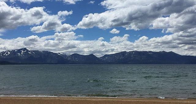 Cold and windy October day in June at Edgewood Tahoe. Brrrrrr. Still great views.
