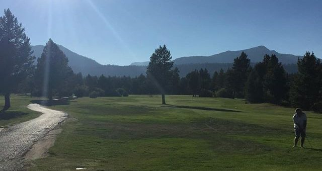 Super day for skins game at Lake Tahoe golf course. Even with Obama up here causing traffic woes. No birdies. Ugh!!! Course is in sweet shape.