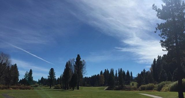 Great day at the pines of Plumas GC. Thx to Brandon.